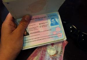 visa indien passeport